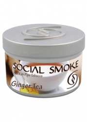 Табак Social Smoke - Ginger Tea (Имбирный Чай) 250 гр